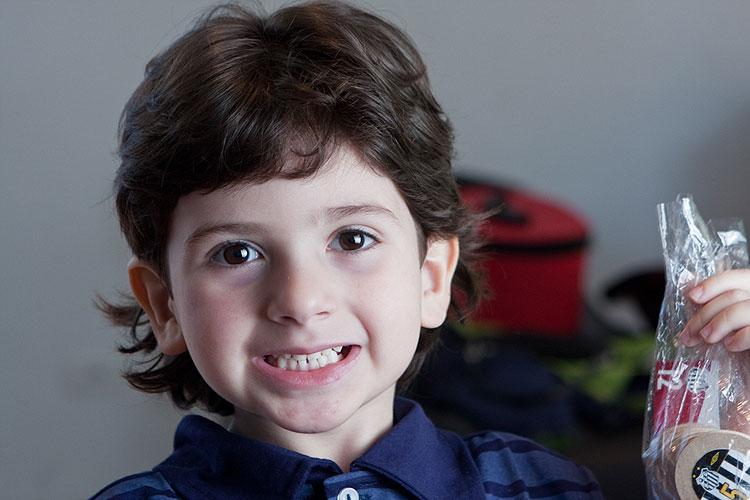 João Pedro, 5 anos