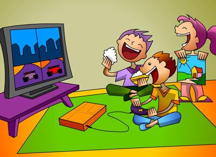 Ficar Em Casa Da Para Jogar Videogame Fazer Atividades Pintar