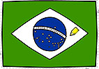 Colorir e recortar - Bandeira