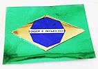 Fa�a uma linda bandeira do Brasil