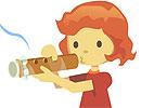 Construa uma flauta