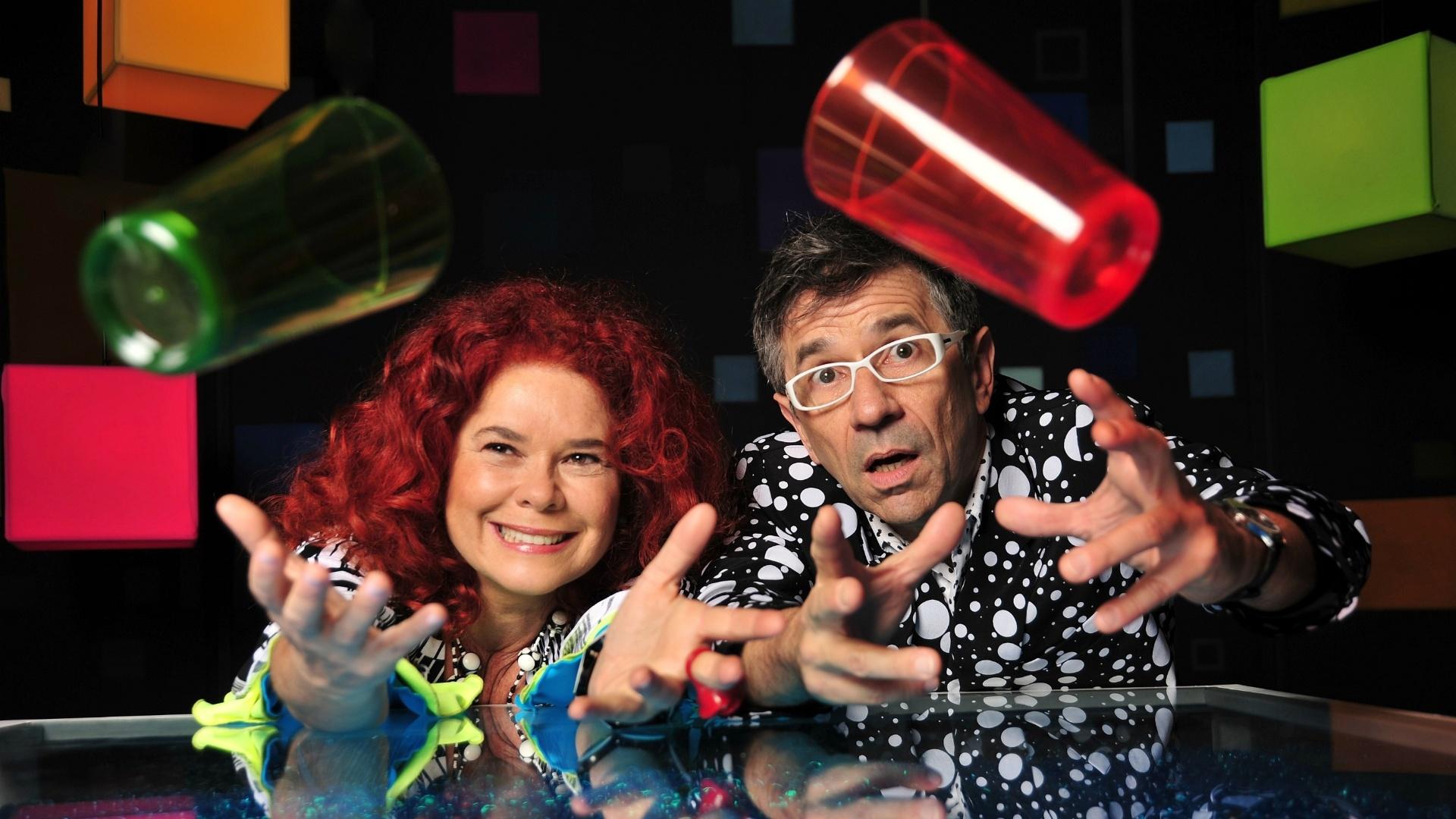 Sandra Peres e Paulo Tatit, da Palavra Cantada, ganham filme 3D