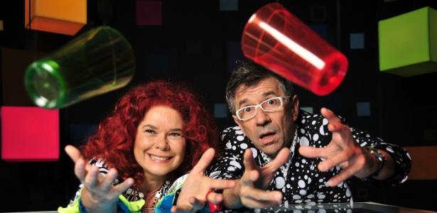 Sandra Peres e Paulo Tatit, da Palavra Cantada, que se apresenta no SESC Itaquera no domingo (6)
