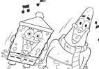 Colorir Bob e Patrick