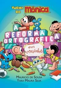 Capa de A Reforma Ortográfica em Versinhos