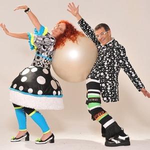 'Brincadeiras Musicais' é o novo espetáculo da dupla Palavra Cantada, formada por Sandra Peres e Paulo Tatit