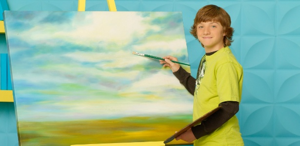 O ator mirim Jake Short interpreta Fletcher Quinby na série Programa de Talentos, do canal pago Disney Channel