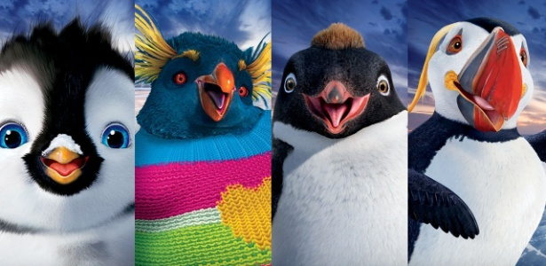 Conheça os personagens de Happy Feet 2