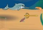 Ajude a toninha a fugir de pescadores